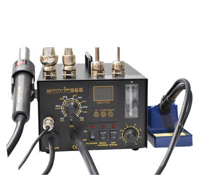 强力推荐恒温焊台热风枪烙铁组合smtvip-968